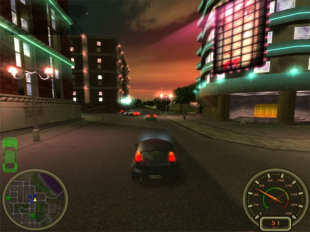City Racing Screenshot 1
