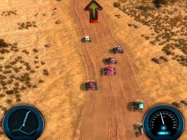 Desert Race Screenshot 1