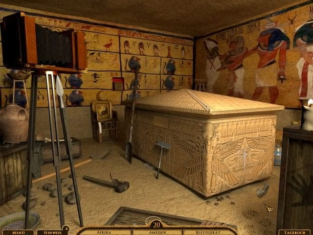 The Curse Of King Tuts Tomb Torrent: Emily Archer: The Curse Of King Tut's Tomb PC Screenshot
