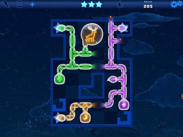 Fiber Twig: Midnight Puzzle Screenshot 0