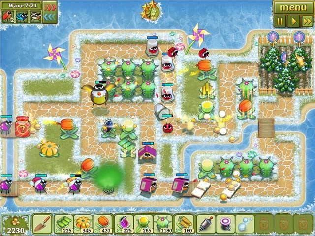 Garden Rescue: Christmas Edition Screenshot 2