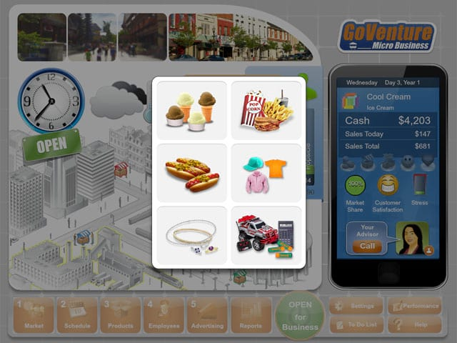 GoVenture: Micro Business Screenshot 1