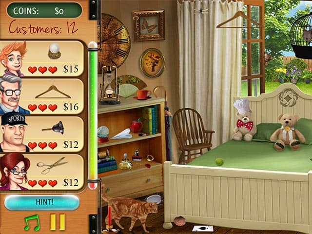 The Curse Of King Tuts Tomb Torrent: Home Makeover Hidden Object PC Screenshot