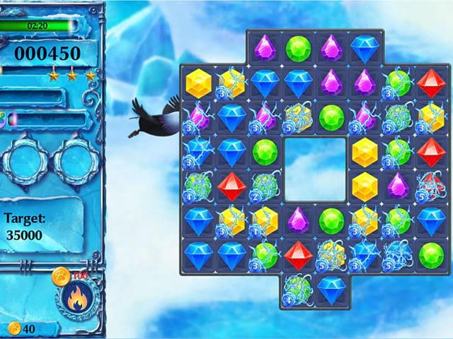 Ice Crystal Adventure Screenshot 1