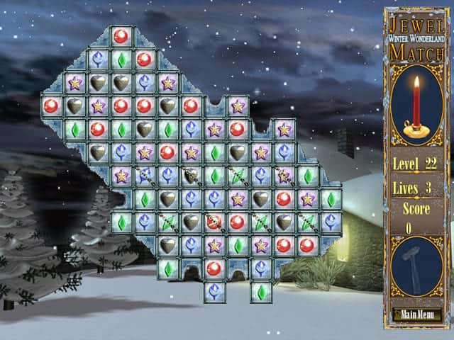 Jewel Match Winter Wonderland Screenshot 0