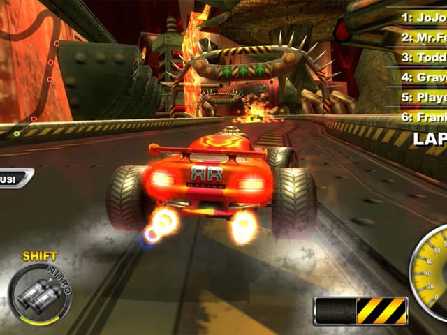 Lethal Brutal Racing Screenshot 1