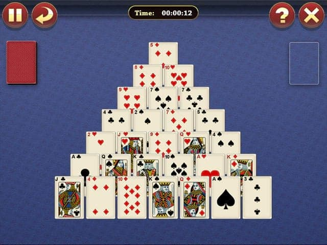 Lucky Pyramid Solitaire Screenshot 0
