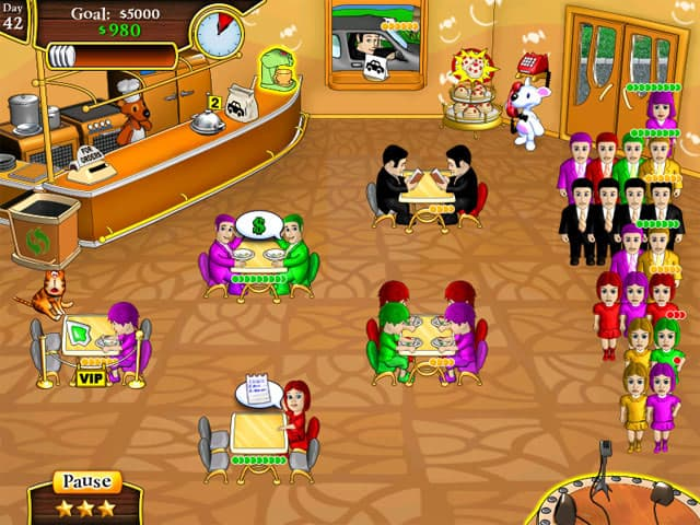 Milky Bear: Lunch Frenzy Screenshot 0