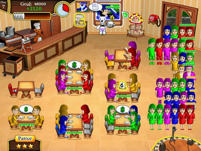Milky Bear: Lunch Frenzy Screenshot 2