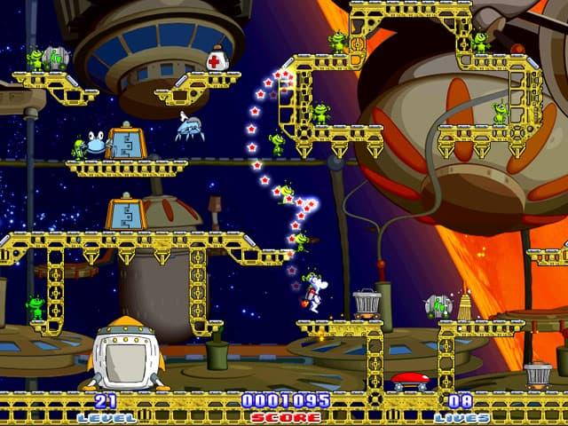 Milky Bear: Rescue Rocket Screenshot 0