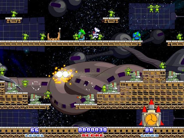 Milky Bear: Rescue Rocket Screenshot 2