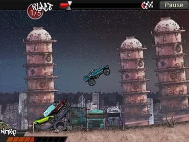 Monster Trucks: Urban Race Free Games Download