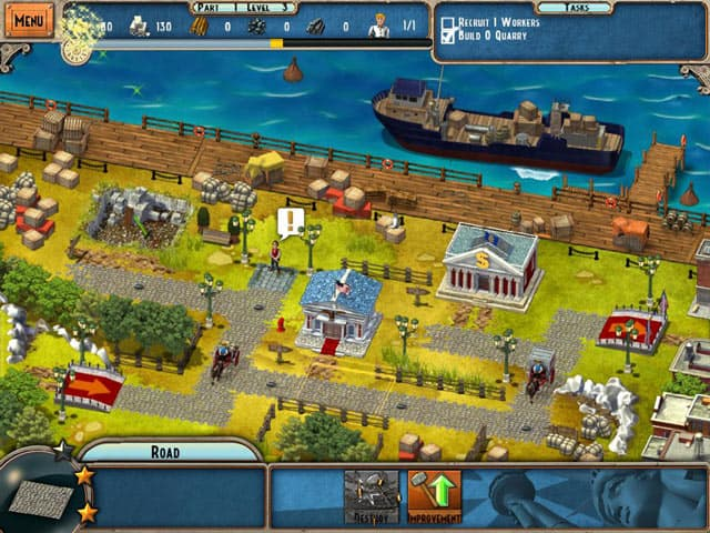 Monument Builder: Statue of Liberty Screenshot 0