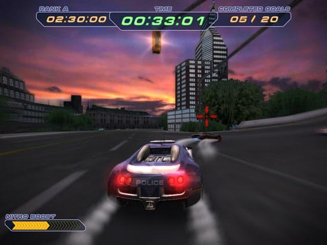 لعبة السيارات الممتعة Police Supercars Racing بحجم 64 Mb