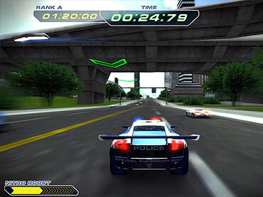 Police Supercars Racing Free Game