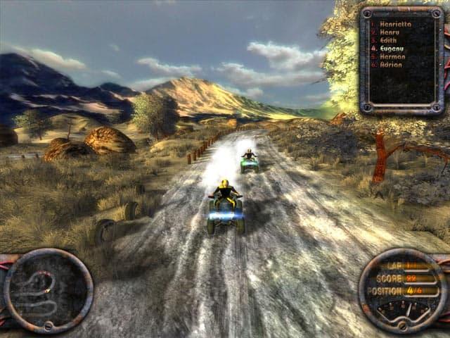 تمتع بالسباقات ATV Quadro Racing اللعبة المشهورة ( حجم 39 Mb )