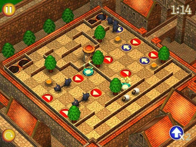 Running Sheep: Tiny Worlds Screenshot 0