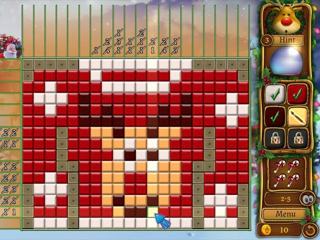 Santa's Workshop Mosaics Screenshot 0