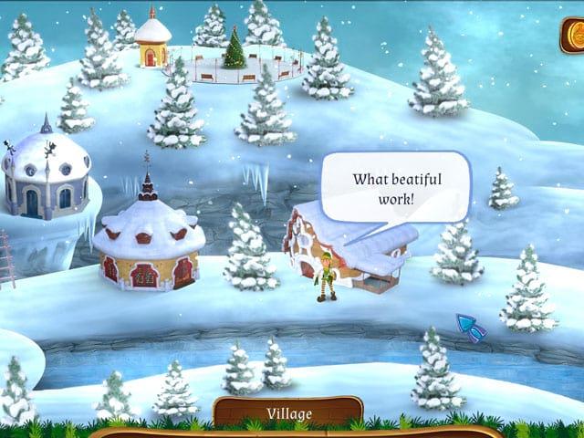 Santa's Workshop Mosaics - Download PC Game Free