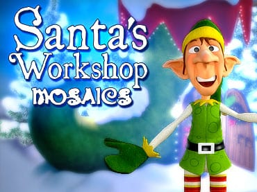 Santa's Workshop Mosaics Free Game
