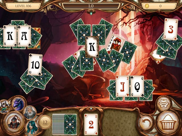Snow White Solitaire: Legacy of Dwarves Screenshot 1