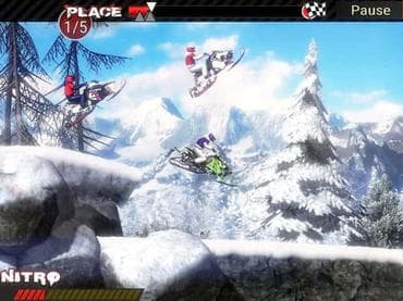 Snowmobile Extreme Racing
