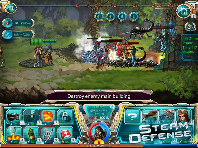 Steam Defense - Download PC Game Free