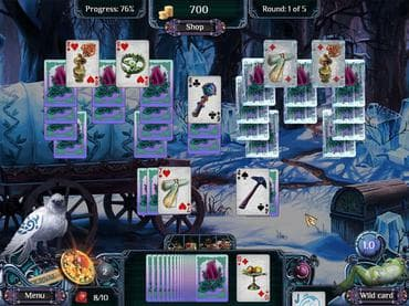 The Far Kingdoms Winter Solitaire