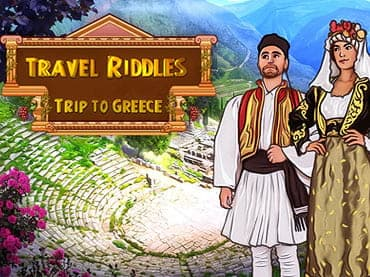 Trip to Greece: Travel Riddles Free Game