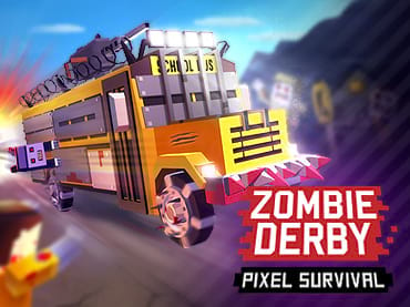 Zombie Derby: Pixel Survival