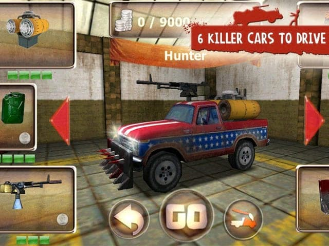 Zombie Derby. Ride to Survive! Screenshot 2