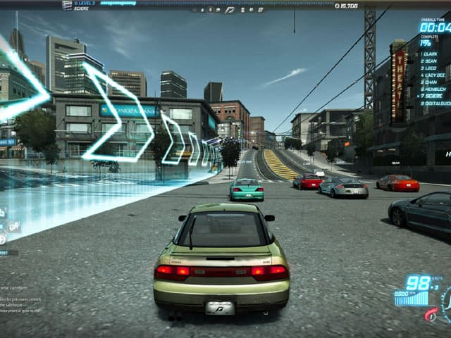 Screenshot Need for Speed World