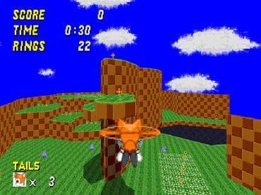 Sonic 3D Robo Blast