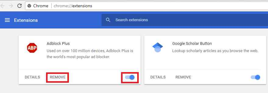 How to Turn off Ad Block and Ad Block Plus for Chrome, Firefox & IE