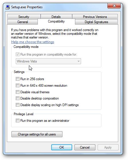 compatibility mode image 2